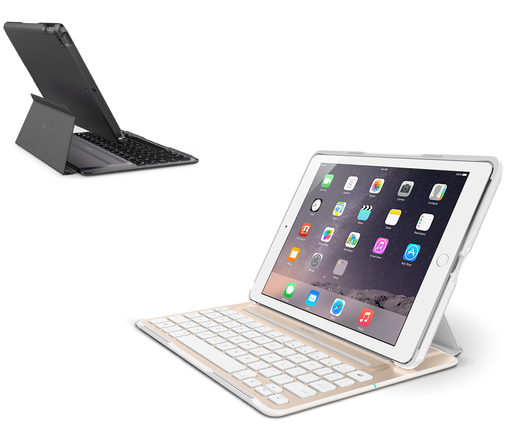 QODE Ultimate Pro Keyboard Case for New iPad Name