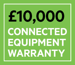 Connected Equipment Warranty to protect connected devices up to £10,000.*