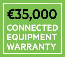 Belkin BSV603 6fach Überspannungsschutz-Steckdosenleiste mit 2-m-Netzkabel, Garantie für angeschlossene Geräte für einen Betrag von bis zu 35.000€