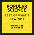 WEMO Maker™ est l'un des gagnants du prix « Best of What's New 2014 » offert par Popular Science.