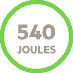 540 Joules icon