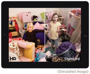 Verstuurt HD-beeld en helder digitaal geluid
