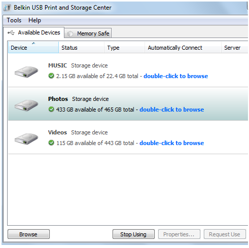 Official belkin support site how to connect a usb storage device image keyboard keysfo Images