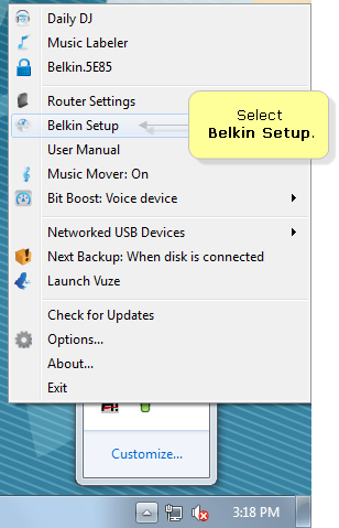 Belkin official support finding the advanced tools of the belkin select belkin setup image keyboard keysfo Images