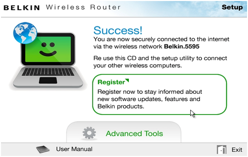 Official belkin support site setting up the belkin router using connecting wireless devices keyboard keysfo Images