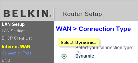 Belkin Official Support - Setting up a Belkin router with a Cable