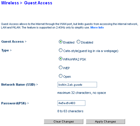 Belkin official support getting to know the guest access feature user added image keyboard keysfo Images