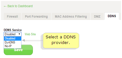 Belkin Official Support - How to set up Dynamic DNS (DDNS