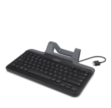 617f5483b0f Belkin Secure Wired Keyboard with Stand, B2B131. User-added image. With  30-pin iPad connector