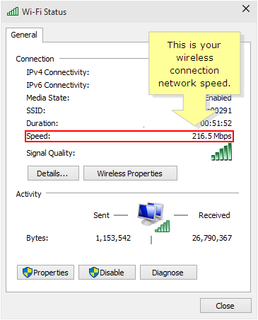 Linksys Official Support - Checking the wireless connection speed of