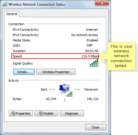 Windows Vista Network Speed