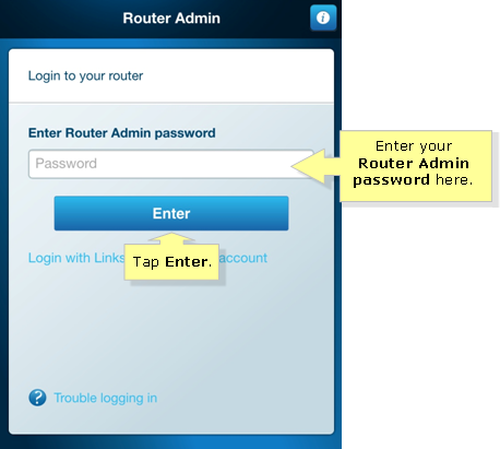how to find your smart router password