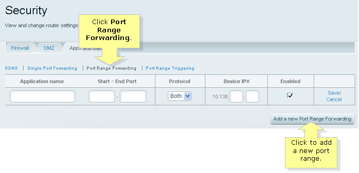 Linksys Official Support - How to set up Port Forwarding on the