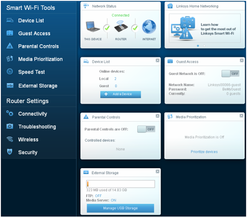 Linksys Official Support - Accessing your Linksys Smart Wi-Fi