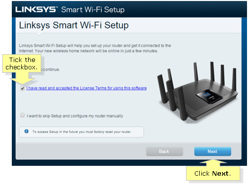 Linksys Official Support - Setting up the Linksys EA9500 and EA9400