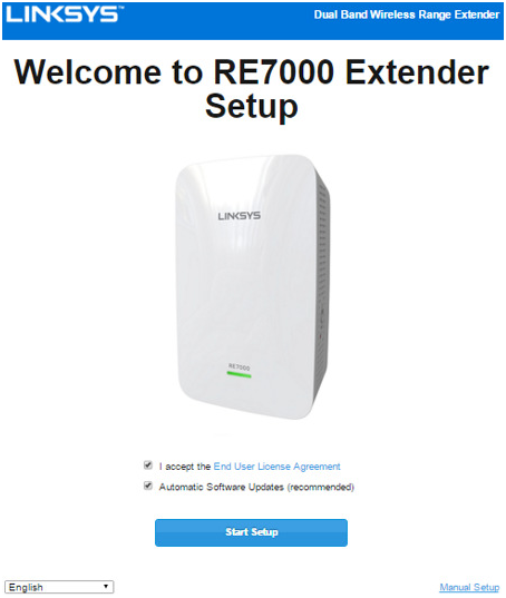 Linksys RE7000 Setup