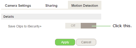 Belkin Official Support - Configuring motion detection