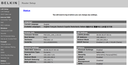 Official belkin support site accessing the routers web based user added image keyboard keysfo Images