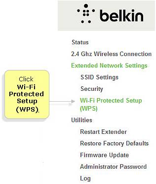 Belkin Official Support - Connecting devices using the WPS
