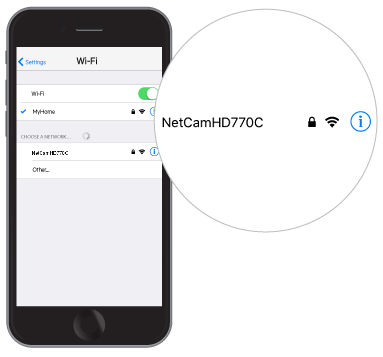 Belkin Official Support - Setting up the Wemo® NetCam using your iOS