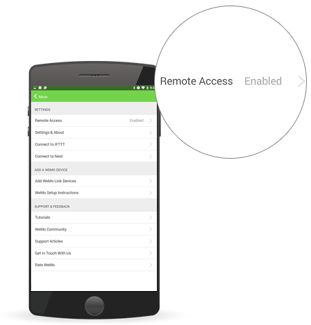 Belkin Official Support - Manually enabling or disabling Remote